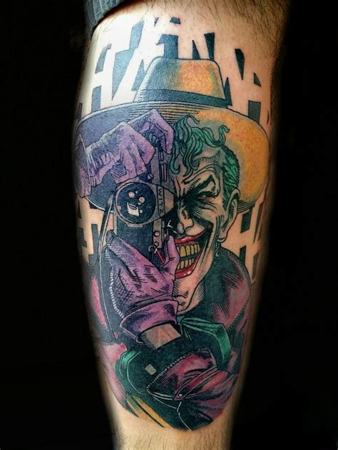 dc comics tattoo designs the killing joke joker dc comics by steve rieck