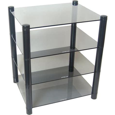 Rack Shelves by Discontinued Apollo Glass 4 Shelf Hifi Rack Superfi