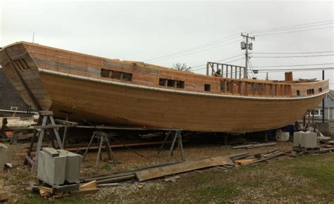 wood scow vineyard open house blog boat building launches