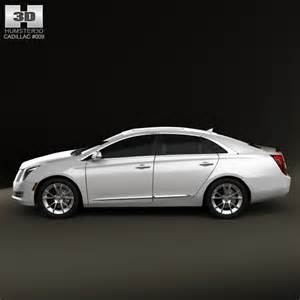 Cadillac Xts Models Cadillac Xts 2013 3d Model Humster3d