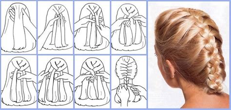 braid lol it s a simple way to do 2 french braids on thick medium how to quickly and easily make french braid your own hair