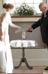 Wedding Ceremony Wine Unity by Unity Wedding Ideas Thriftyfun