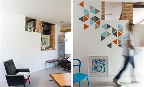 Tuto Peindre Un Mur by Tutoriel Peindre Des Motifs G 233 Om 233 Triques Sur Un Mur