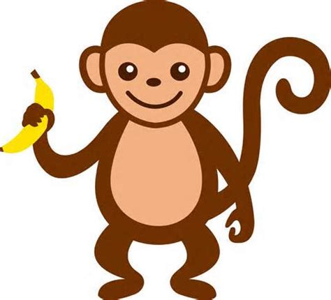 Clipart Of Monkeys Monkey Clip For Teachers Clipart Panda Free