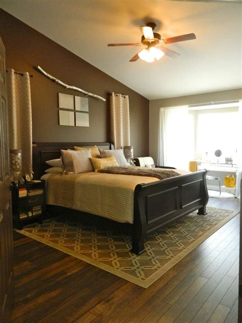 hardwood floors in the master bedroom i like the area