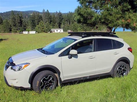 subaru crosstrek forest subaru crosstrek roof rack full cargo rack factory