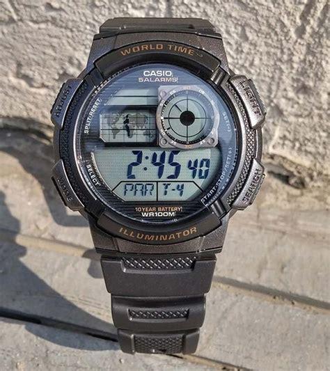 Casio Original Ae1000w 4a jam tangan pria untuk menyelam jam simbok