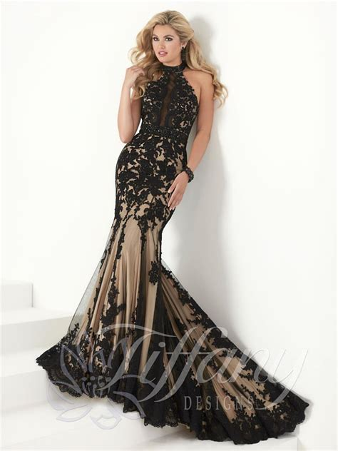 tiffany designs  prom dress prom gown