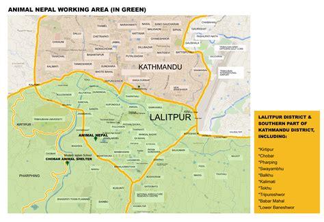 map of lalitpur nepal contact animal nepal s