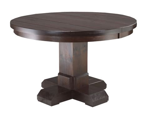 Mennonite Furniture by Shrewsbury Single Pedestal Table Lloyd S Mennonite