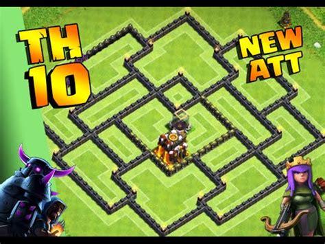 clash of clans th10 hybrid layout clash of clans o melhor layout cv10 h 205 brido 2016 best
