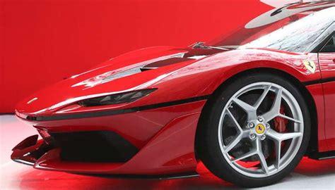 ferrari j50 black ferrari j50 blueprint for future designs super cars corner