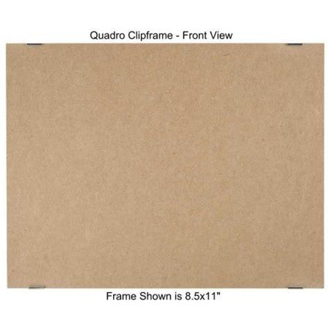 quadro clip frame 8 5 215 11 inch borderless frame classic