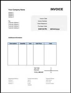 Model Invoice Template by Free Invoice Template Uk