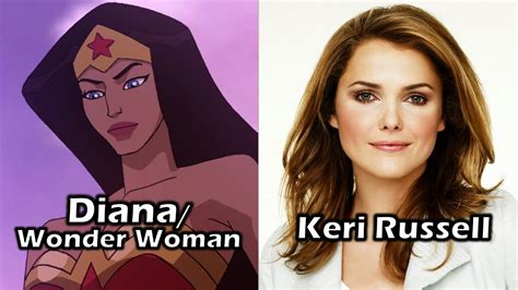 wonder woman voice actor characters and voice actors wonder woman youtube