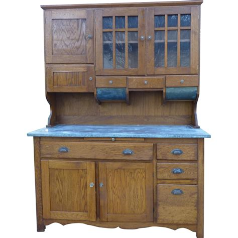 kitchen bakers cabinet oak kitchen bakers cabinet from owenstreasures on ruby