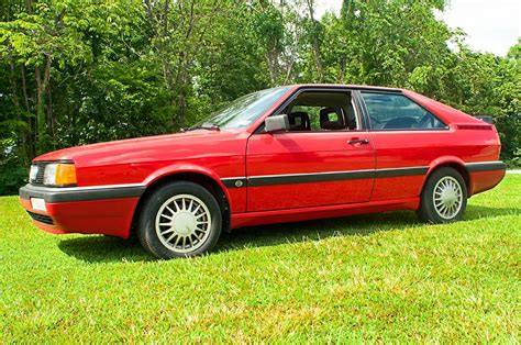 manual cars for sale 1986 audi coupe gt user handbook 1986 audi coupe gt with 3 390 miles german cars for sale blog