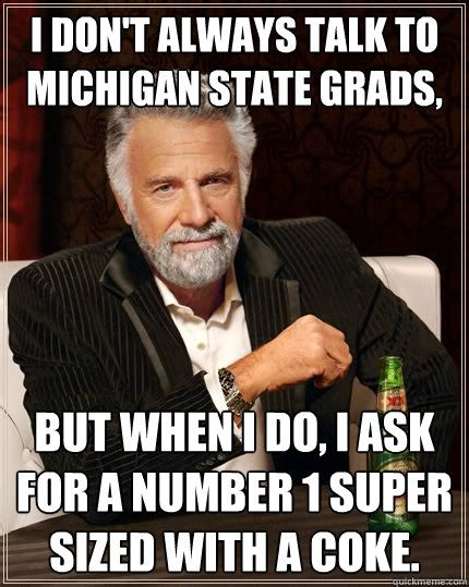 Michigan State Memes - 18 hilarious big ten memes for your enjoyment