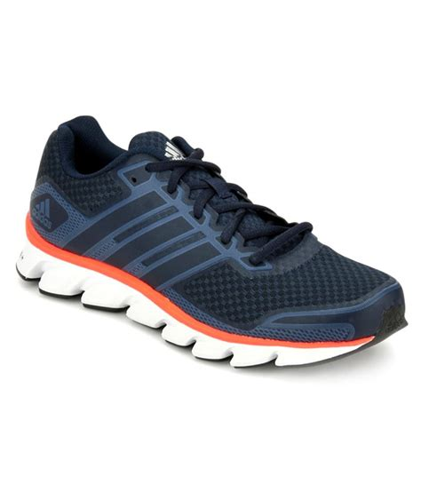 adidas black leather running sport shoes price in india