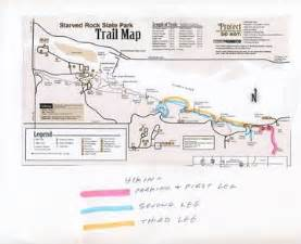 Starved Rock State Park Map by Let S Hike Matthiessen State Park Lunch Then Hike Starved