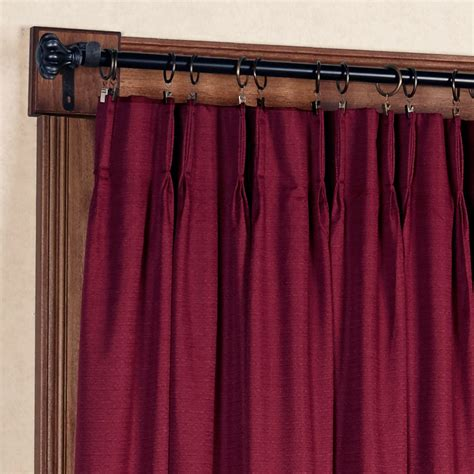 pinch pleat patio panel drapes crosby pinch pleat thermal room darkening patio panel