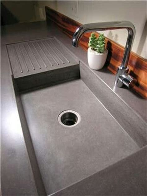 Concrete Countertop With Sink by Best 25 Concrete Kitchen Countertops Ideas On Farm Sink Kitchen Cement Countertops