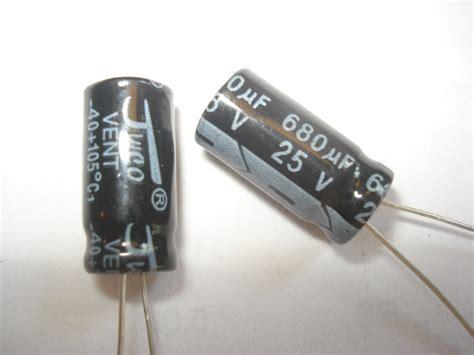 capacitor eletrolitico 680uf 25v capacitor 28 images 1pcs 10v 16v 25v 35v 680uf radial electrolytic capacitor alex