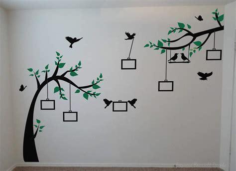 Photo tree wall decal wall art decal sticker