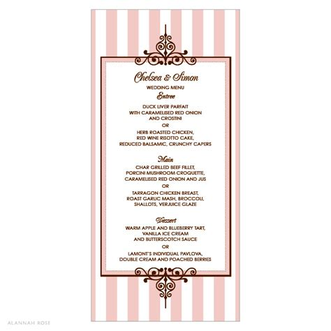 sle menu card clairelouise s another site that does not offer