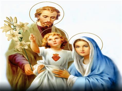 holy mass images the holy family of jesus mary and joseph