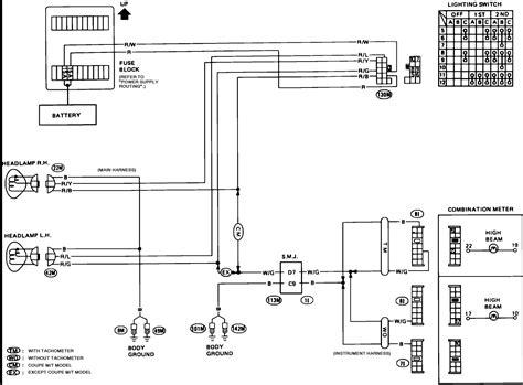2002 nissan sentra headlight wiring diagram efcaviation