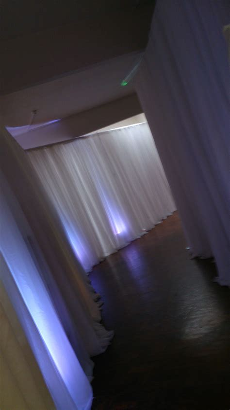 ceiling drapes with fairy lights venue dressing ideas draping wall drapes ceiling