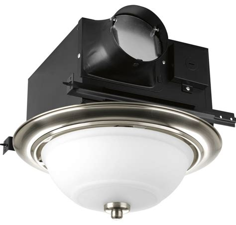 Progress Lighting Decorative Bathroom Exhaust Fan X Bathroom Fan And Light Combo