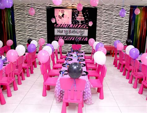 2nd Birthday Decorations At Home barbie rockstar birthday quot aleyna s barbie rockstar