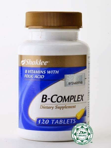 Vitamin B Complex Shaklee bayi cacat akibat ibu kekurangan asid folik vitamin sihat