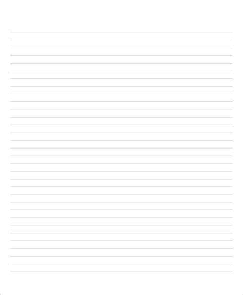 a4 report template lined paper 10 free word pdf psd documents