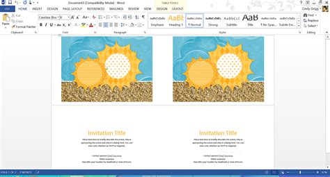 outlook greeting card template free summer themed templates from microsoft