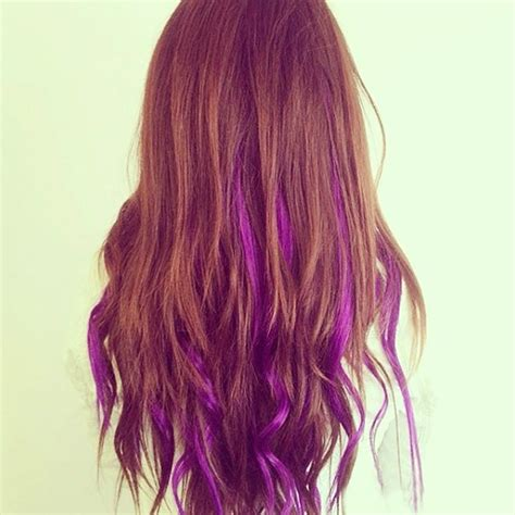 what purple hair dip dyed with black looks like 2014 dip dye hair colors vpfashion