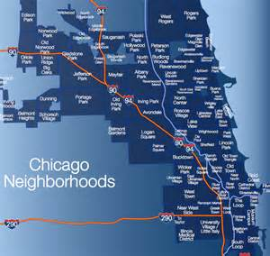 Neighborhoods In Chicago Map by Chicago Real Estate Featuring Chicago S Gold Coast Real Estate