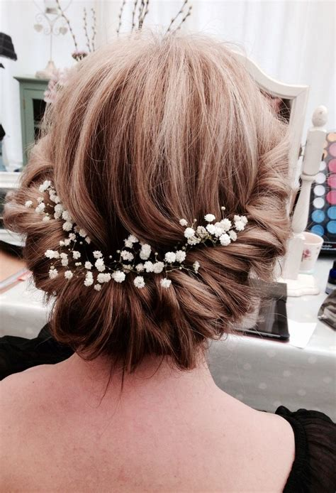 Wedding Hairstyles With Gypsophila by Bridal Roll Hairstyle Fade Haircut