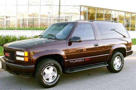 how to fix cars 1996 gmc yukon on board diagnostic system purchase used 1996 gmc yukon gt 4x4 rare leather low miles extra extra clean in saint