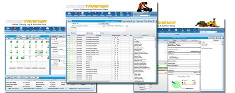 Fitness Software by Crosstrainer Fitness Nutrition Software Professional