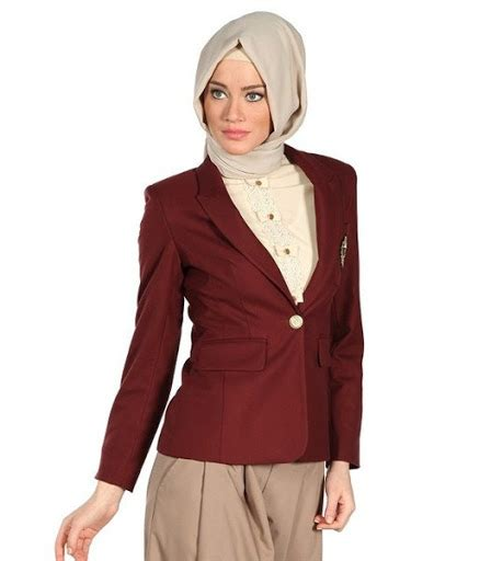 trend model blazer wanita terbaru 2016 cantikinfonet 21 model blazer wanita muslimah modern terbaru 2017 2018