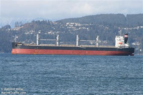 ship particular as columbia vessel details for columbia bulk carrier imo 9423530