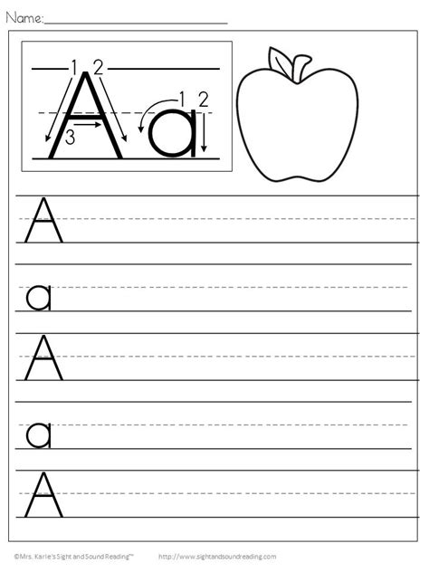 template of the letter a practice writing letters template learnhowtoloseweight net