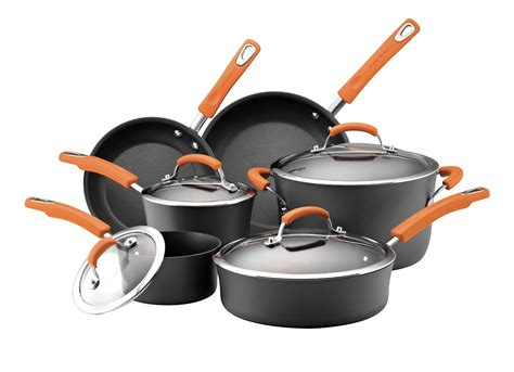 amazon pan amazon rachael ray 10 piece cookware set only 99 99