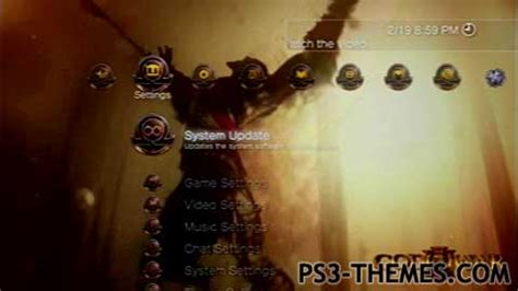 ps3 themes hd god of war ps3 themes 187 god of war ascension dynamic theme