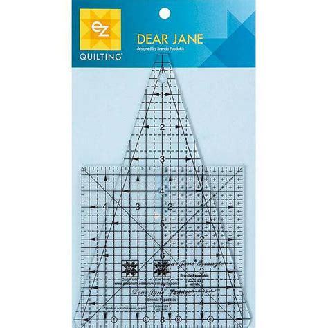 dear jane tools quilting rulers templates triangle