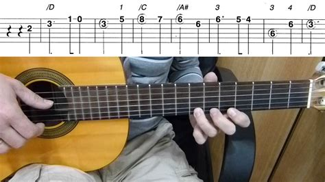 tutorial guitar melody guitar lesson harry potter easy guitar melody tutorial