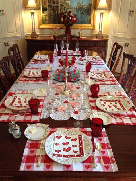 valentines day tablescapes valentine s day tablescape valentine s day pinterest